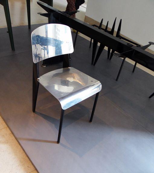 Jean Prouve exhibit, Nancy, France, 2012. Prouve was born in Nancy in 1901.
