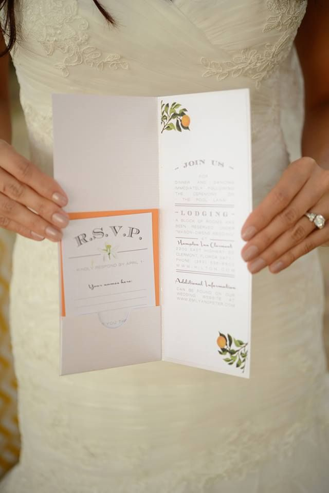 Denise opened Dogwood Blossom Stationery after having trouble finding things that she envisioned for her own wedding. If you're having a similar dilemma, we can help you fulfill your dreams with custom invitations and paper goods made just for you! Photo by Clearly In Focus Photography.