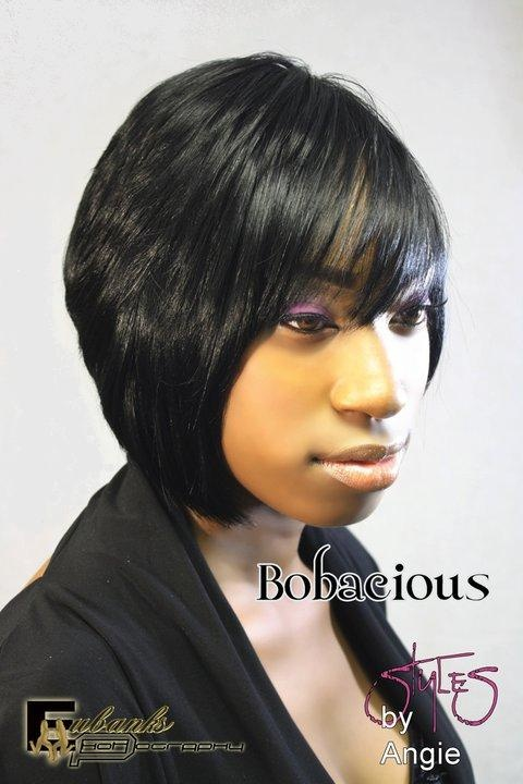 Bob~A~Cious!! Quick Weave By Angie Jackson! Instructional DVD Available!