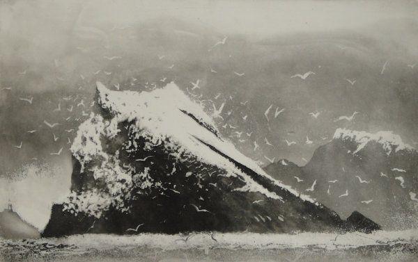 The Rumblings, Muckle Flugga, Shetland - Norman Ackroyd