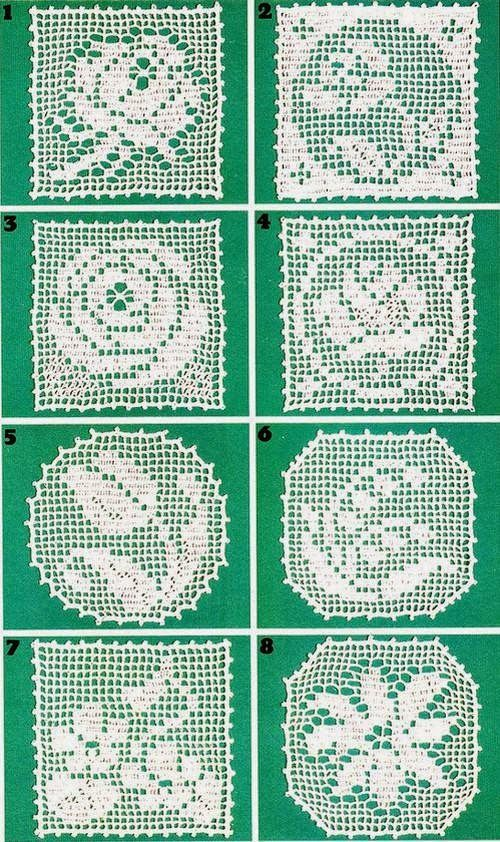 Crochet and arts: crochet motifs