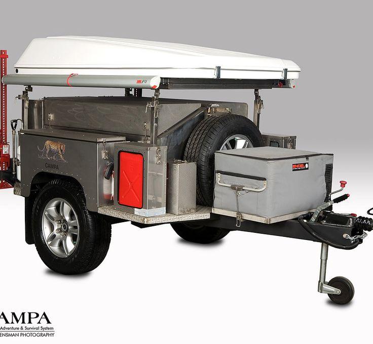 Campa usa all terrain trailers camping trailer