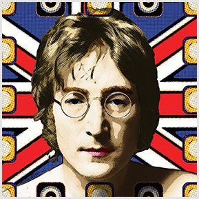John Lennon - Quadrinhos confeccionados em Azulejo no tamanho 15x15 cm.Tem um ganchinho no verso para fixar na parede. Inspirados em cantores e compositores internacionais. Para entrar em contato conosco, acesse: www.babadocerto.c...