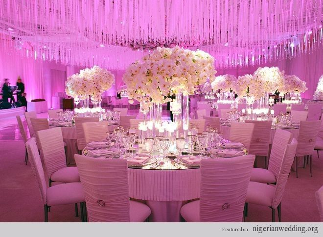11 mind blowing luxurious wedding reception decor ideas