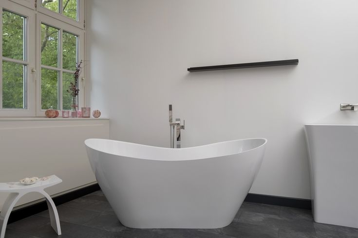 Imola Freestanding Stone Cast Bath | Decide now for a real stone cast bathtub at a discounted price. Original stone cast designer bathtubs produced in Europe with a special discount; t... view details on www.treniq.com