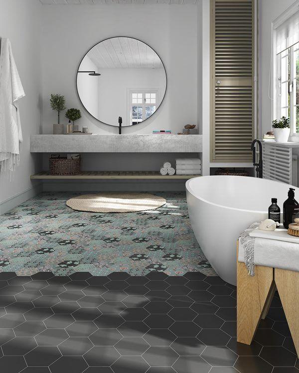 Good Vibes Est Une Collection De Carrelage Decoratif Hexagonal En