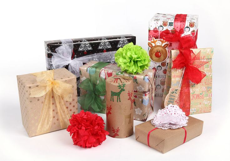 It's the thought that counts! Give perfectly wrapped presents this festive season.