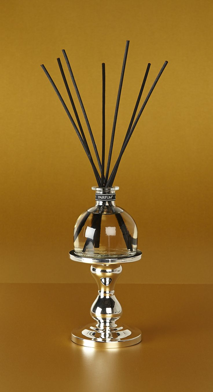 Stunning Silver Holder, part of the Pairfum Collection @ www.pairfum.com for Reed Diffuser Coture Aroma Fragrance, longlasting & Natural.