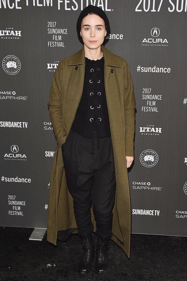 Руни Мара на премьере фильма «Открытие» на фестивале Sundance 2017