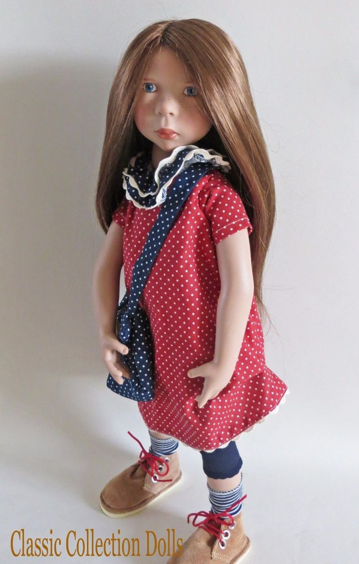"""""""AVERY"""" JUNIOR DOLL BY ZWERGNASE- 2017 COLLECTION - 20""""- NEW- IN STOCK NOW! 