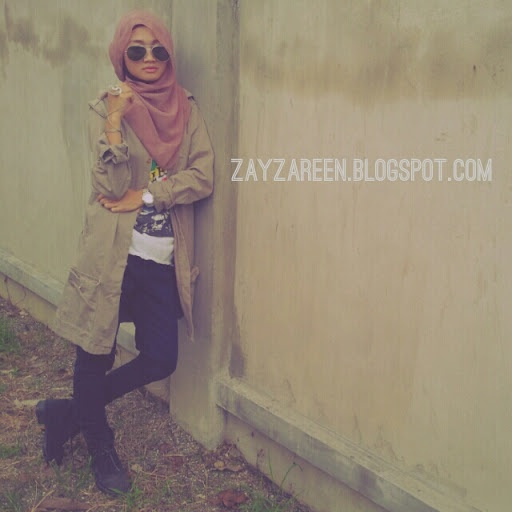She's rocking the street style #hijab #fashion