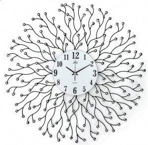 #Clock #JVD Zegar ścienny design HJ74 - Jasněna Vláhová Design