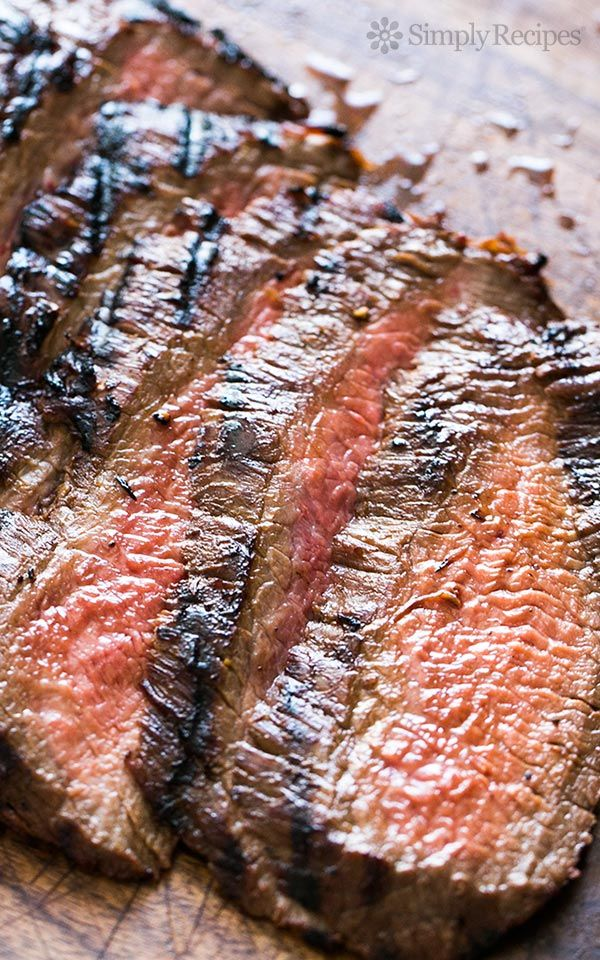 Asian Style Grilled and Marinated Flank Steak - Girl and
