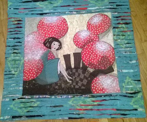 Anna Zychora-Duda - Wariacje na temat Alicji z krainy czarów na podstawie ilustracji Manueli Adreani / Alice in Wonderland (inspired by Manuela Adreani) by Anna Zychora-Duda