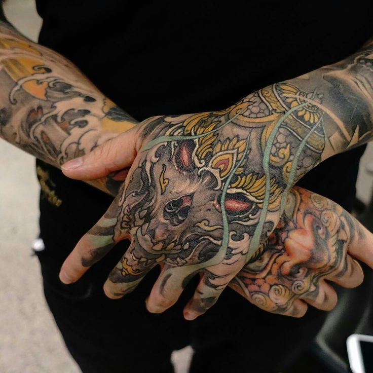 Tattoo done by: Tristen Zhang #oriental #tattoooriental #tatuaje