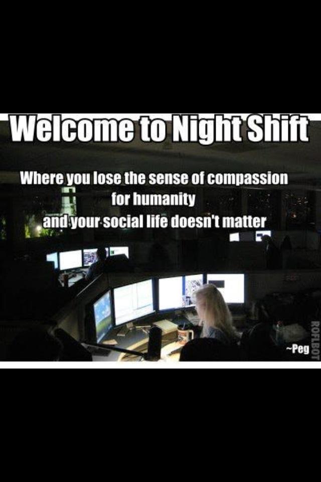 911 dispatcher.. sad..very true. 4 years of it and I still sleep good at night