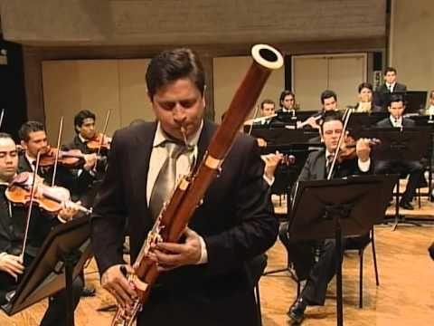 CM Von Weber bassoon concerto, Laurent Lefèvre basson, Simon Bolivar Orc...