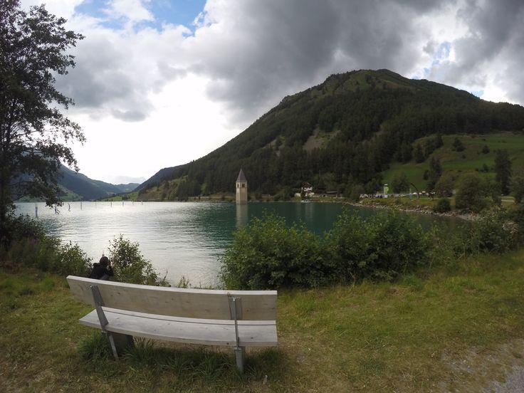 #lake #sky #italy #trentinoaltoadige #nature #mountain