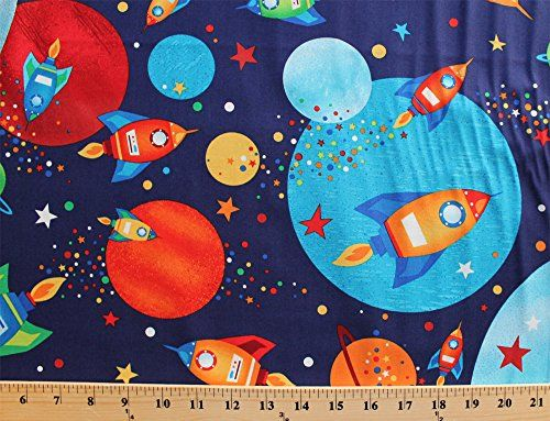 83 best appliques images on pinterest clip art kid for Outer space fabric by the yard