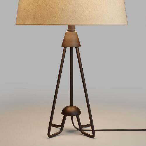 Iron Hairpin Kent Table Lamp Base - World Mkt