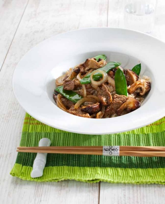 Beef wokschotel met oestersaus, NewFysic | Moeiteloos afslanken