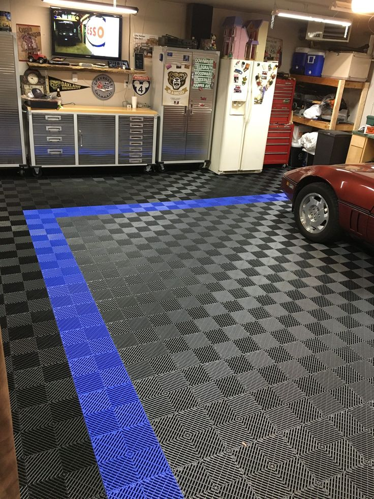 436 best Garage Floor Tiles images on Pinterest  Garage