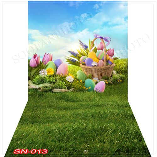 Easterday 10'x20' Computer-painted(CP)Season Scenic background backdrop SN013B88 #ART PTINTS # wallpaper backgrounds