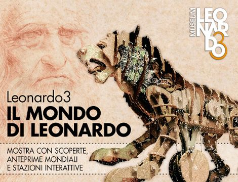 """Quattro appuntamenti col curatore della mostra Il Mondo di #Leonardo: come avere """"Leonardo in persona""""!  Un'occasione unica per scoprire il suo genio attraverso riproduzioni fisiche e postazioni interattive."""