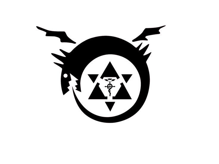 Render Manga - Renders fullmetal alchemist serpent cercle transmutation oroburos