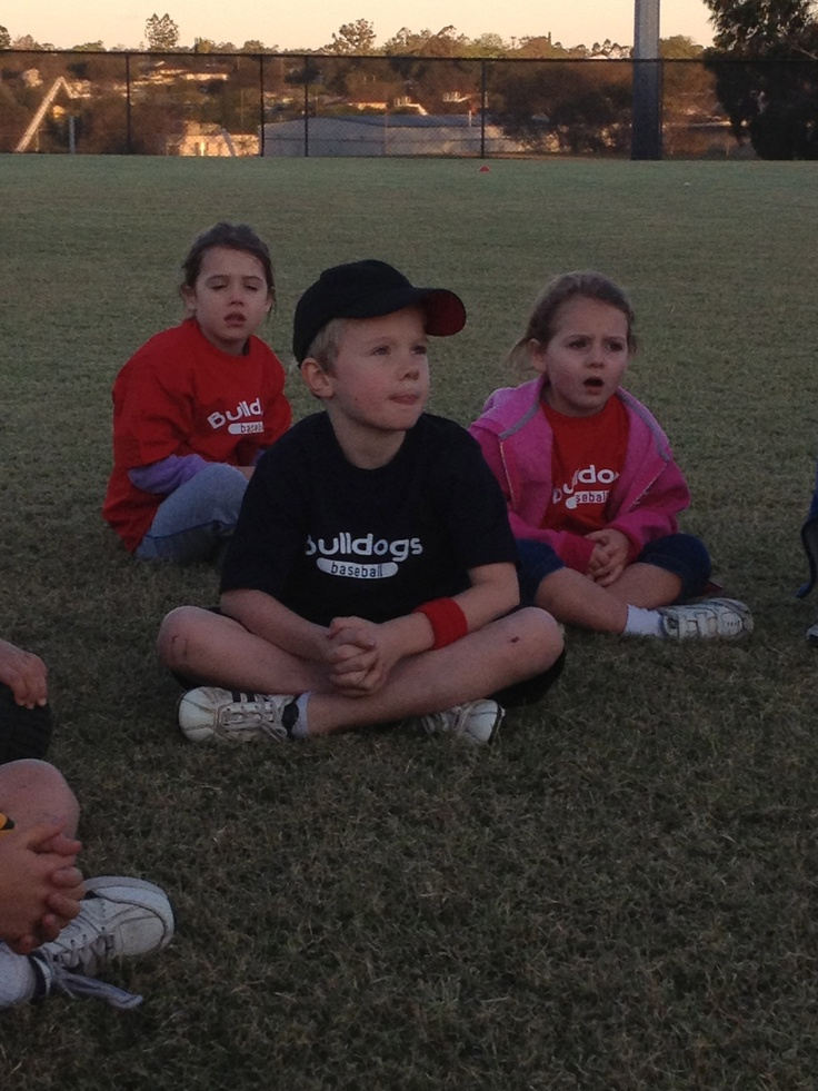 Coops at practice listening to his coach