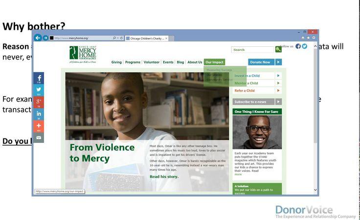 DonorVoice Donor Feedback Platform