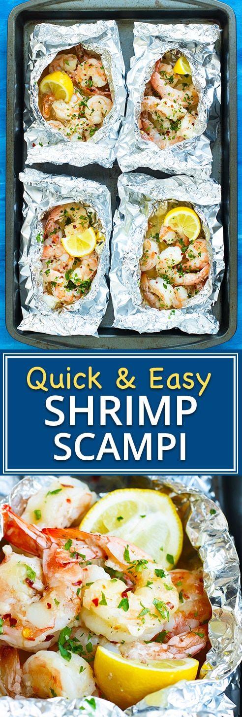 Bag of shrimp scampi leaves   – Evolving Table Recipes