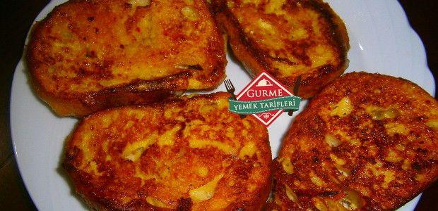 Yumurtalı Ekmek Tostu - Pratik Yemek Tarifleri. Gurme resimli kolay pratik Yumurtalı Ekmek Tostu nasıl yapılır yapılışı yapımı hazırlanışı