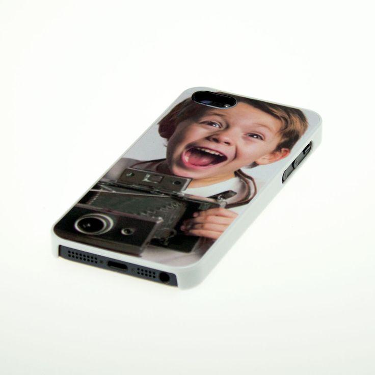 iPhone 5 Cover mit Fotodruck weiß