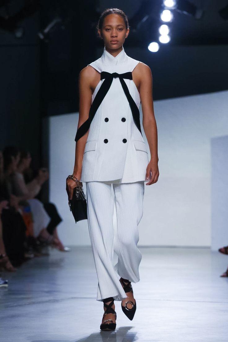 Look 1 - Proenza Schouler Ready To Wear Spring Summer 2016 New York - NOWFASHION