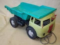 Kipplaster, DDR *** wohl das robusteste Sandkastenspielzeug, das es damals gab ***  Most is megvan :)