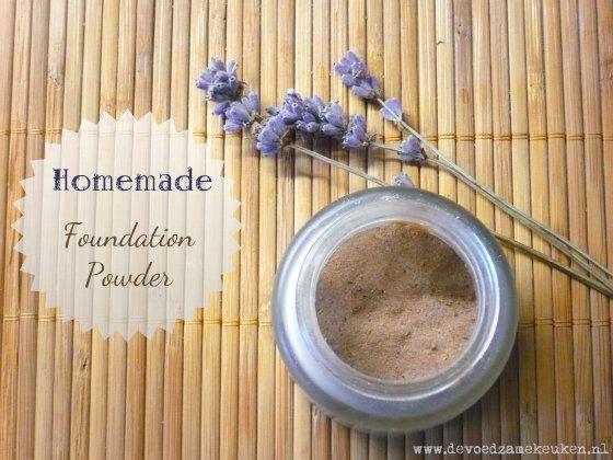 Hoe je zelf een natuurlijke poeder foundation maakt zonder chemische rotzooi, makkelijk, goedkoop en gezond!