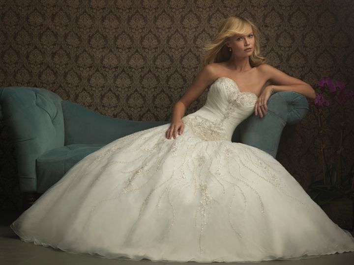 118 best Allure Wedding Dresses images on Pinterest | Wedding frocks ...