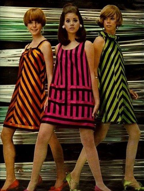 Cute '60s mod fashions.