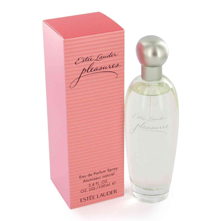 """Estee Lauder Pleasures Perfume. My scent since it was released. It reminds me a little of """"Cachet"""" in that it smells just a bit different on each person. LOVE IT!"""