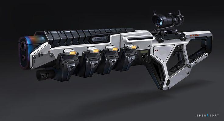 ArtStation - Weapon concepts, Sperasoft Studio