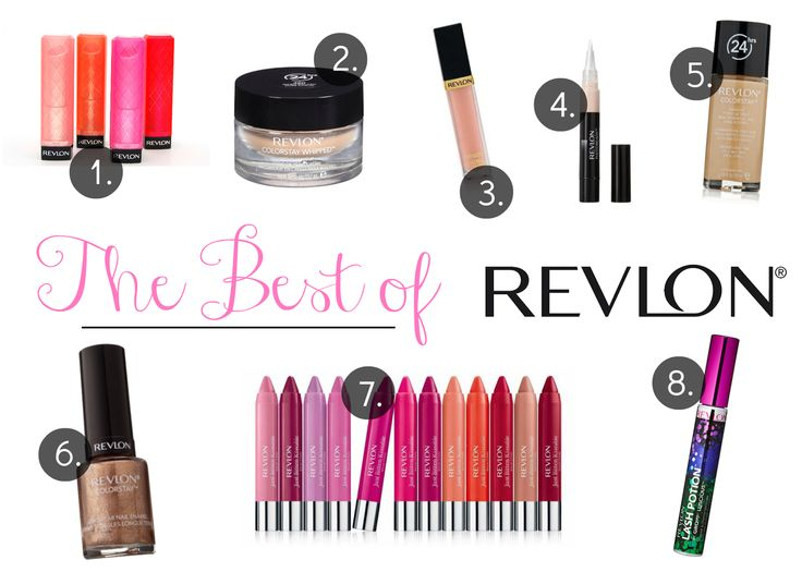 Drugstore Makeup Favorites: The Best of Revlon Makeup
