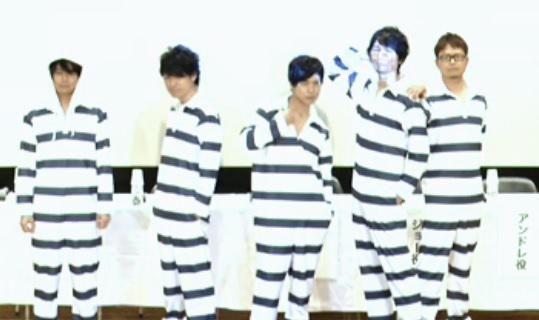 Prison School TV anime seiyuu cast: Daisuke Namikawa, Kenichi Suzumura, Kamiya Hiroshi, Katsuyuki Konishi, Kazuyuki Okitsu in the main cast! (2015)