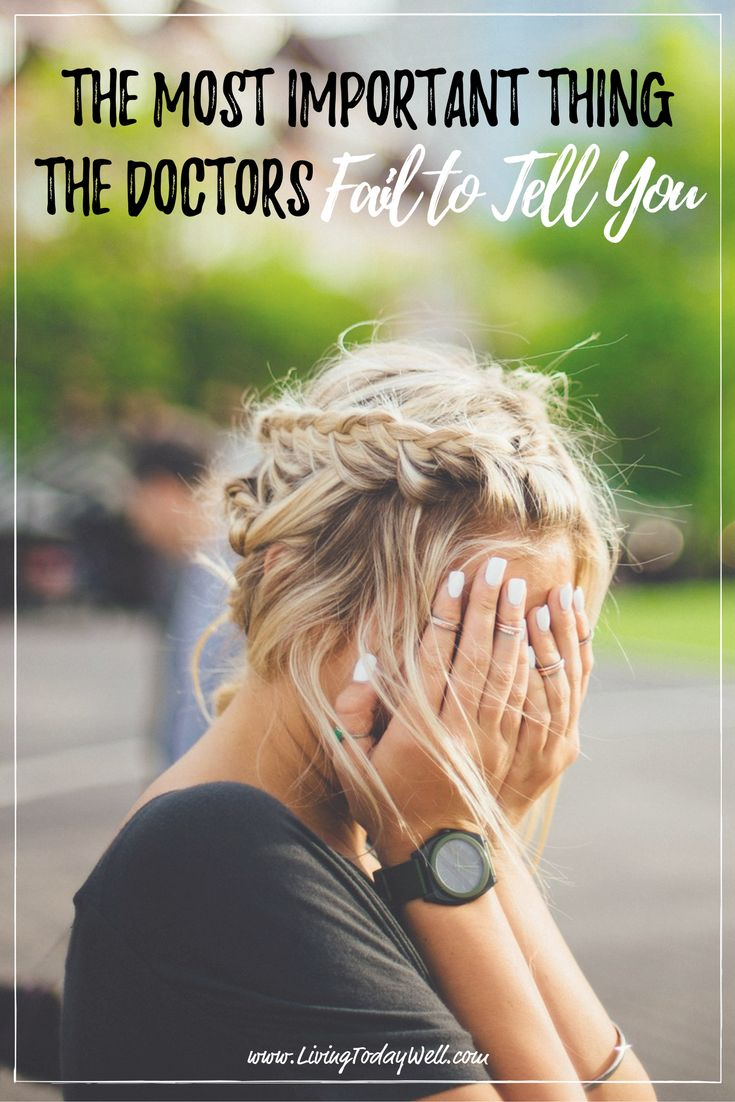 What you need to know that your doctor isn't telling you.