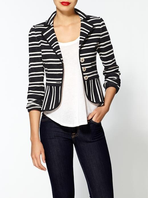 stripes blazerLepore Playgirl, Clothing, Outfit Inspiration, Blazers Fashion, Nanette Lepore, Structures Stripes, Stripes Blazers, Coats Blazers Jackets, Playgirl Jackets