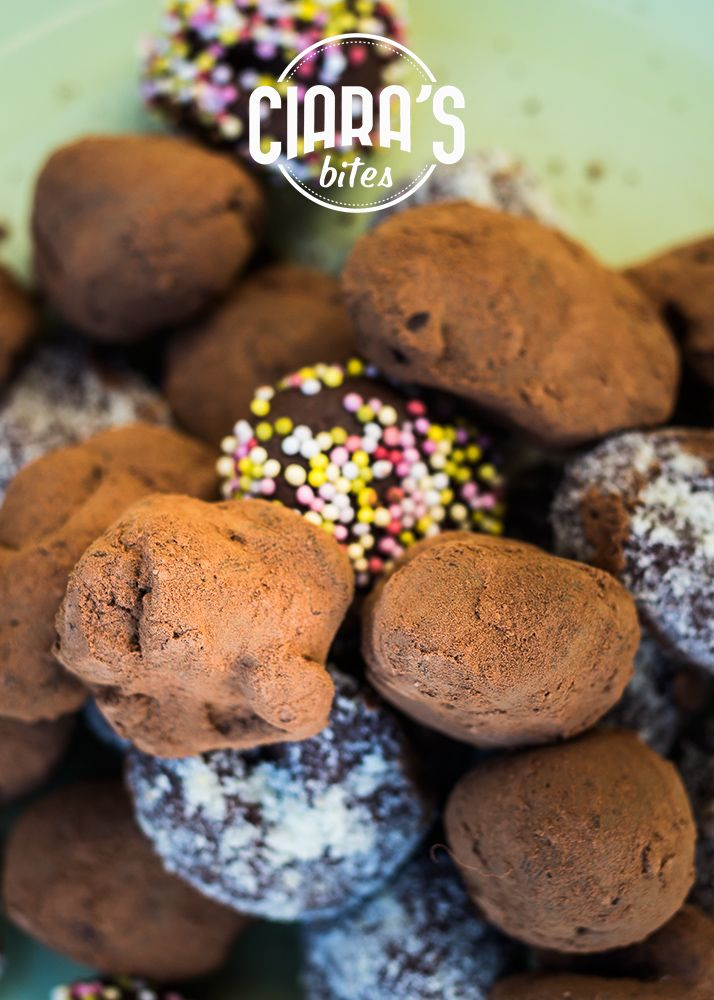 Classic Chocolate Truffles with our own special Belgian chocolate blend