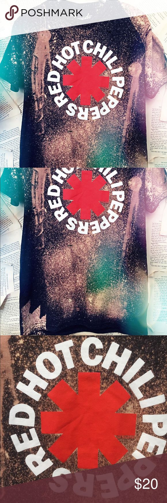 Red hot chili peppers band tee Distressed band tee new with tags. Bravado Tops Tees - Short Sleeve