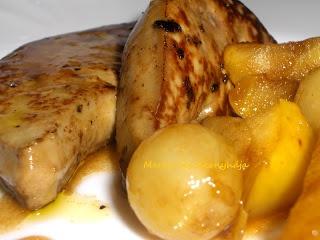 Marka boszikonyhája: Libamáj karamellizált almával, tokaji aszú szószban