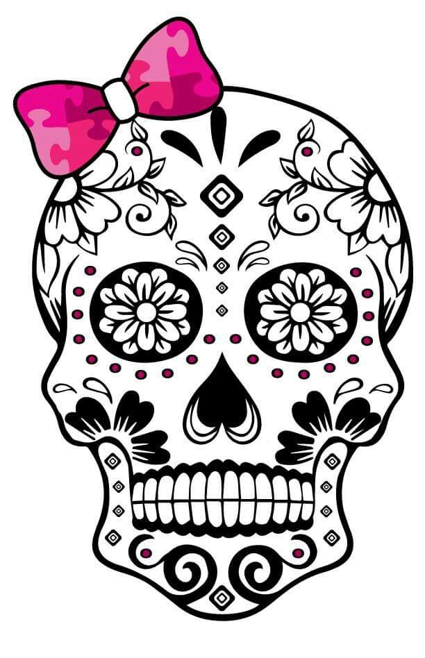Sugar Skull Template 1000 images about Day of the Dead Sugar Skulls on