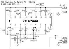 TDA7000 FM Receiver TV Tuner